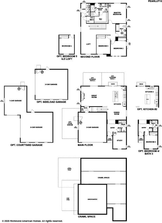 The Pearl Static Floor Plan Image